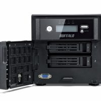 BUFFALO NAS Windows 5200 Tower | Windows Storage Server 5000 2Bay 4.0TB BUFFALO TeraStation NAS Storage BUFFALO TeraStation NAD Storage TeraStation 5000 2Bay 4.0TB NVR NAS (with AXIS Camera Companion) - TS5200D0402S TERASTATION 4200 POWERFUL TERASTATION™ 4200 POWERFUL AND FLEXIBLE 2-BAY BUSINESS NAS ENCLOSURE - TS4200D